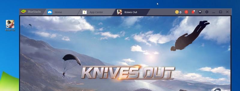 Jouer à Knives out avec Bluestacks sur PC